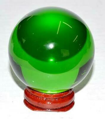 Green Crystal Ball 50mm