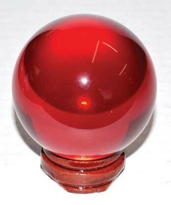 Red Crystal Ball 50mm