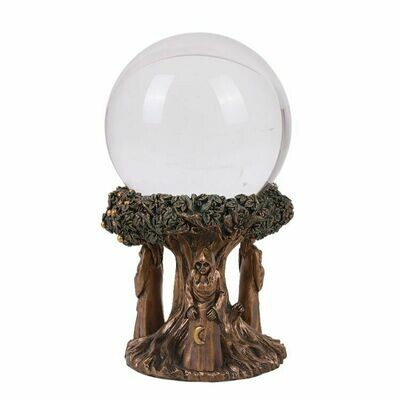 Maiden Mother Crone Gazing Ball 13569