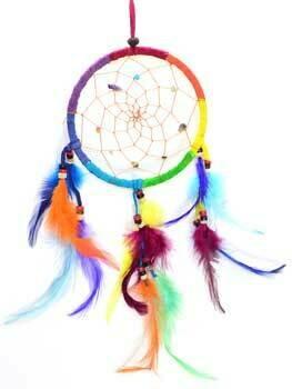 Rainbow Dream Catcher 4