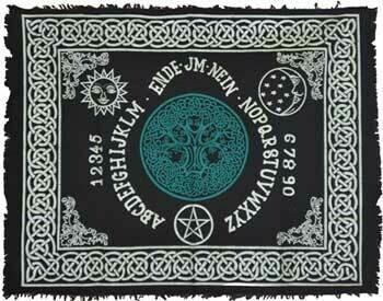 Tree Ouija Board 24x30 altar cloth