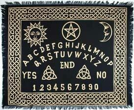 Ouija Board 24x30 altar cloth