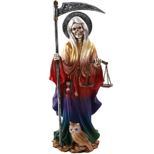 Santa Muerte Rainbow 11549
