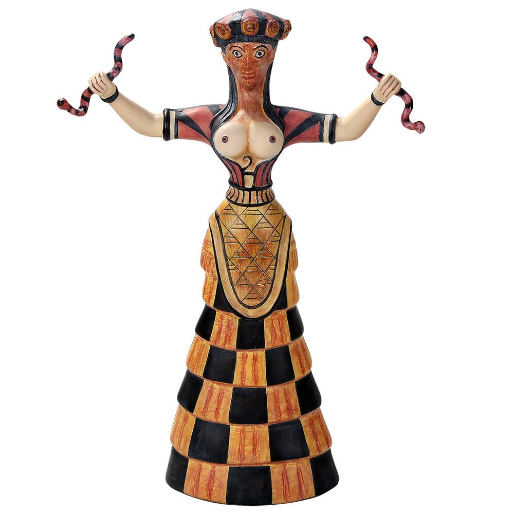 Cretan Snake Goddess 12563
