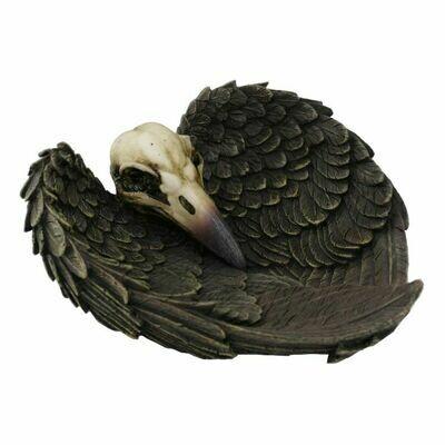 Raven Skull Dish 13600