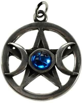 Pentacle and Moons Pendant