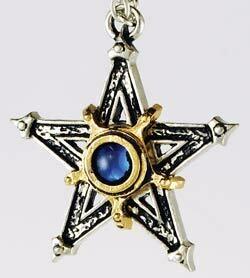 "Medieval Pentagram 1.5"" pendant"