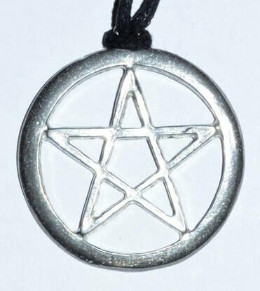 Extra Large Pewter Pentagram