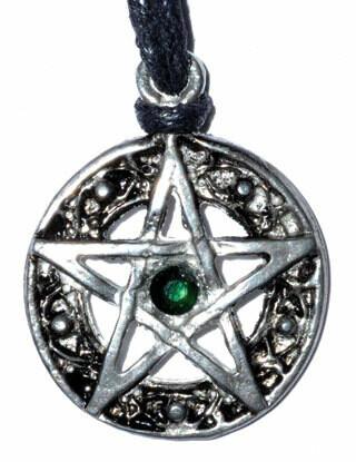 Celtic Knot Pentagram pendant