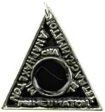 Solomons Magic Triangle amulet