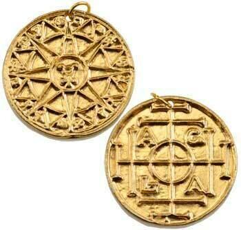 Magical AGLA talisman