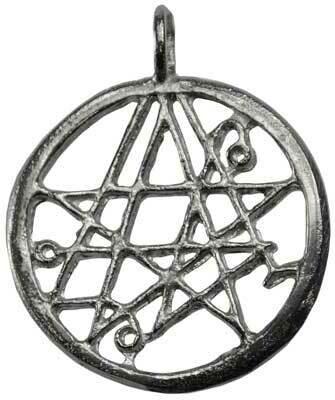 Necronomicon pendant