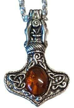 Amber Dragon Thor's Hammer