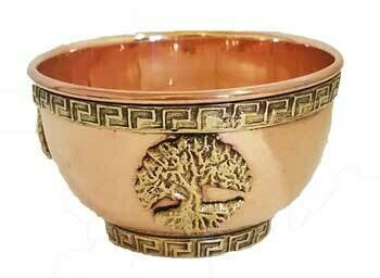 """Tree of Life Copper Bowl 3"""""""
