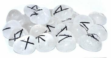Clear Quartz Runes