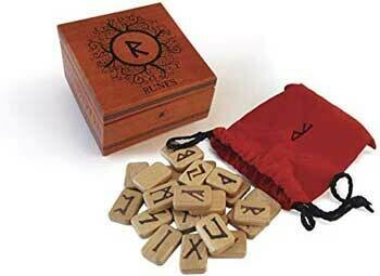Deluxe Wooden Runes with Box