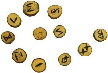 Runes - wood