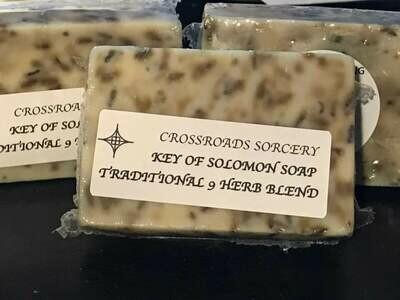 Key of Solomon 9 Herb Soap