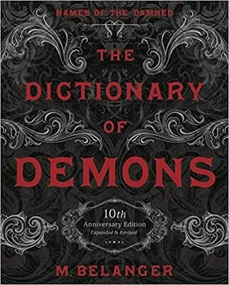 Dictionary of Demons hc by M. Belanger