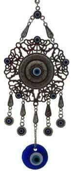 Flower Evil Eye wall hanging