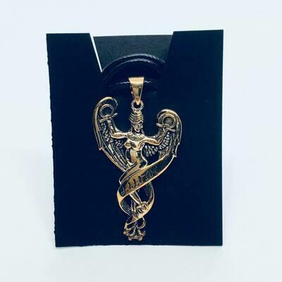 Bronze Lilith Pendant