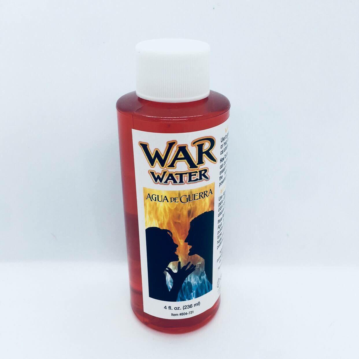War Water 4 oz