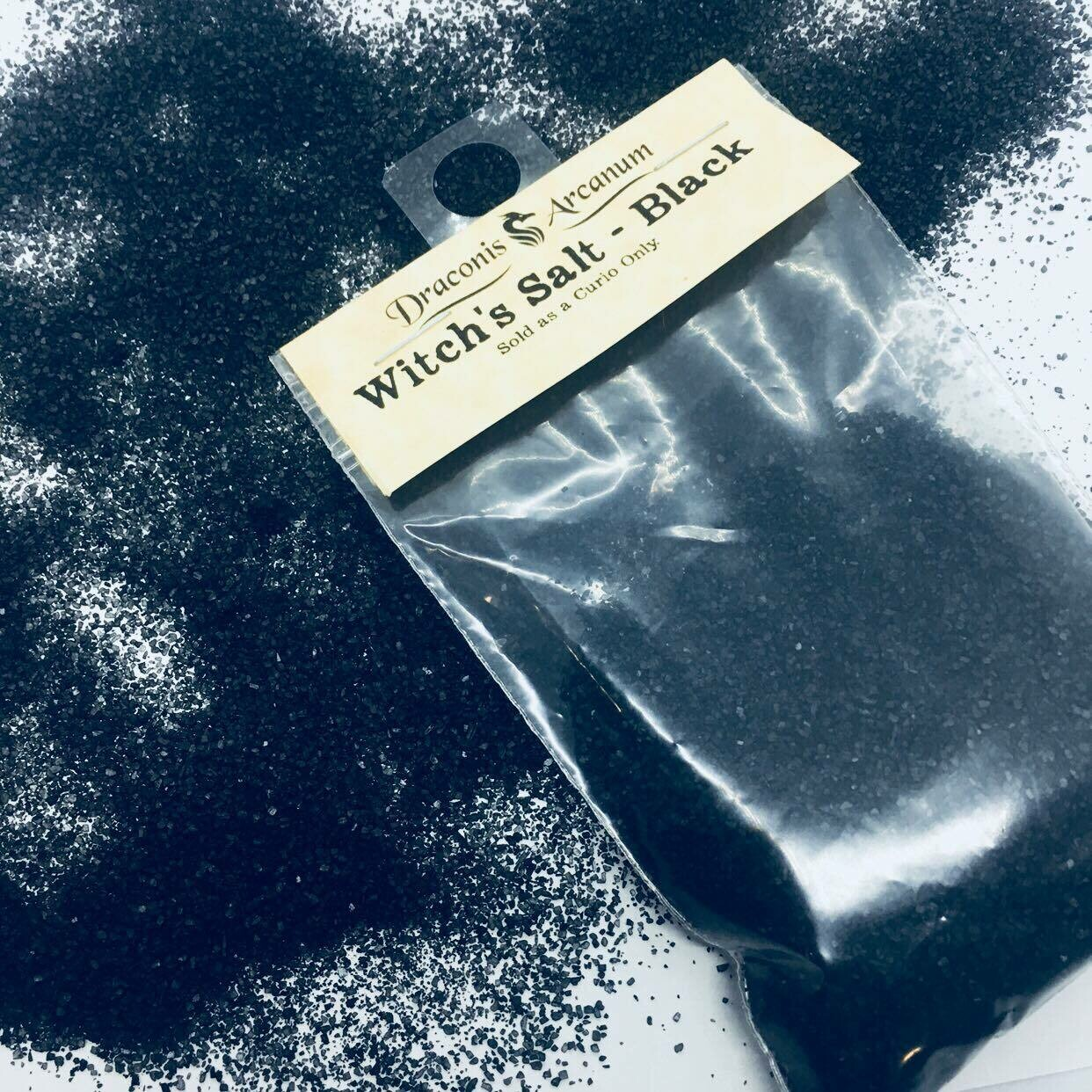 Witch's Salt - Black
