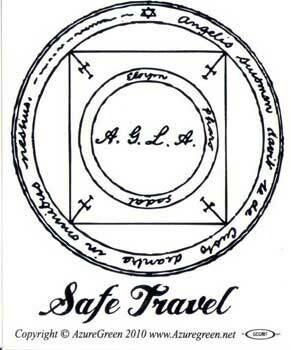 Safe Travel sticker