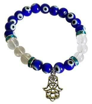 Evil Eye Quartz Fatima Hand bracelet