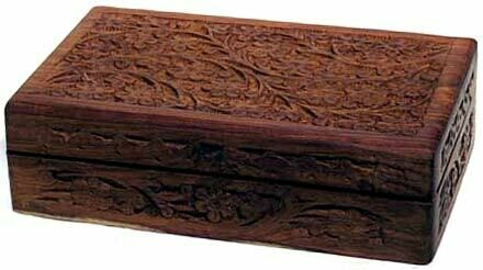 """Floral Handcrafted Box 5x8"""""""