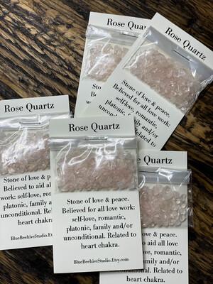 Rose Quartz chips