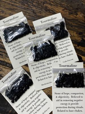 Tourmaline chips