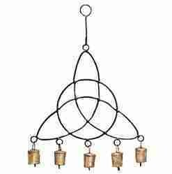 """Triquetra Metal Wind Chime 14"""""""