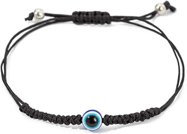 Evil Eye Black Rope Bracelet
