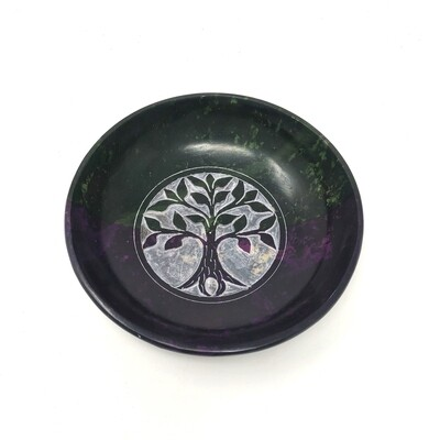 Tree of Life Colored Scrying Bowl