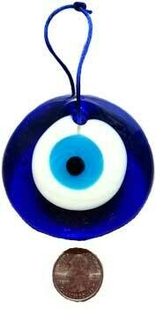 "3"" Evil Eye wall hanging"