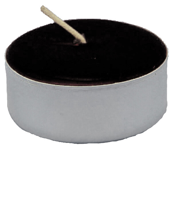 Black Tealight