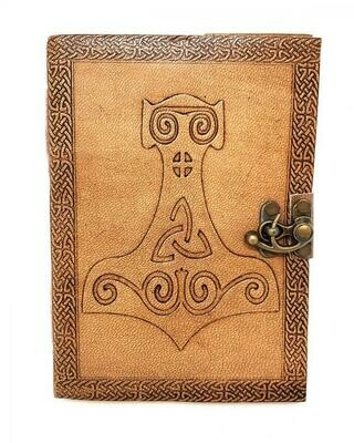 """Thor Hammer Leather Journal 5""""x7"""""""