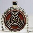 Wheel of Hecate Copper Pendant