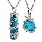 Turquoise Dragon sphere necklace