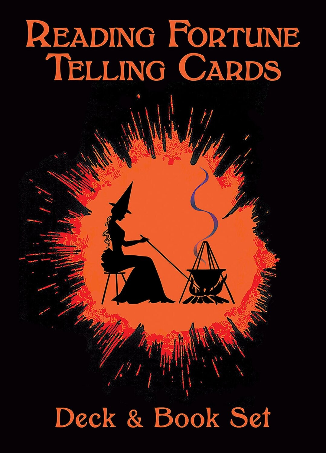 Reading Fortune Telling Cards deck & book set