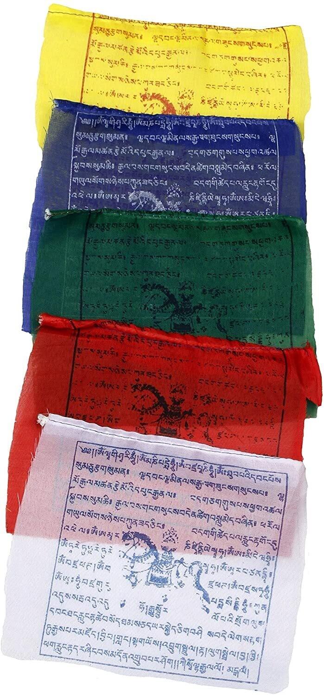 "Tibetan Prayer flag- 7"" 10 flags"