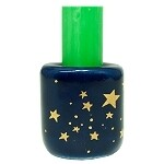 Chime Candle Holder- Blue with Gold Stars