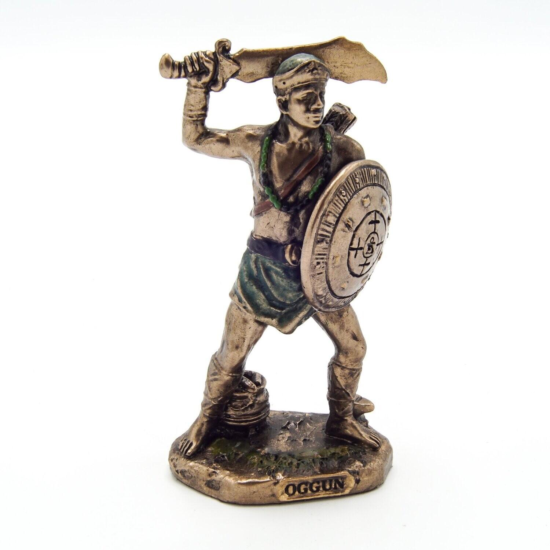 Oggun God of War, Iron and Hunting