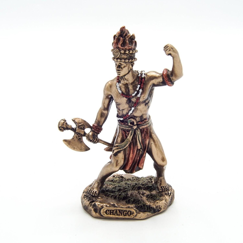 Chango God of Fire, Thunder, Lightening and War