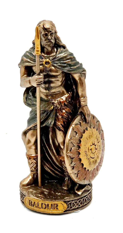"""Baldur bronzed figure 3.5"""""""
