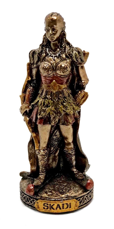 """Skadi bronzed figure 3.5"""""""