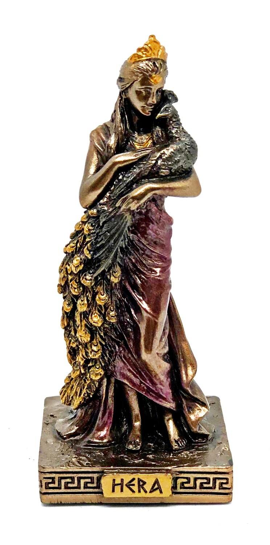 """Hera bronzed figure 3.5"""""""