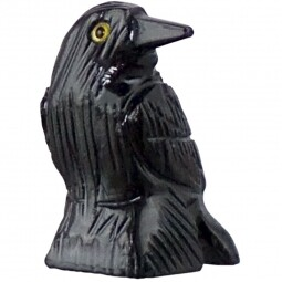 "Raven Black Onyx 1.25"""