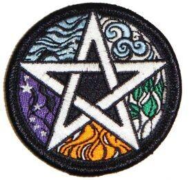 Elemental Pentagram Patch